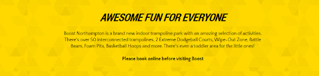 complete indoor trampoline park in Northampton