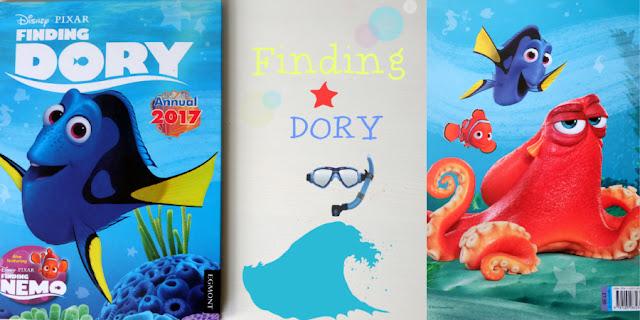 weekendownik: Finding Dory Annual 2017 - Egmont