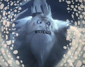 Winter Warlock in Santa Claus is Comin' to Town 1970 animatedfilmreviews.blogspot.com