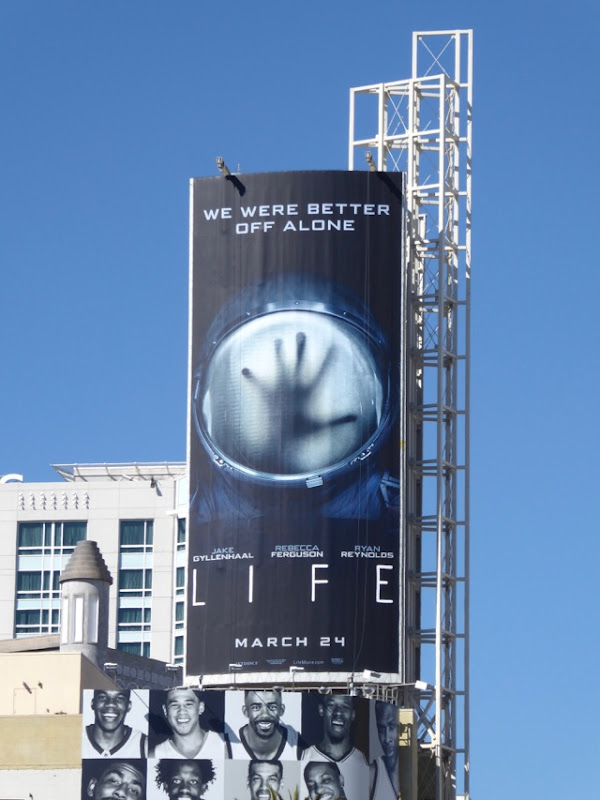Life film billboard