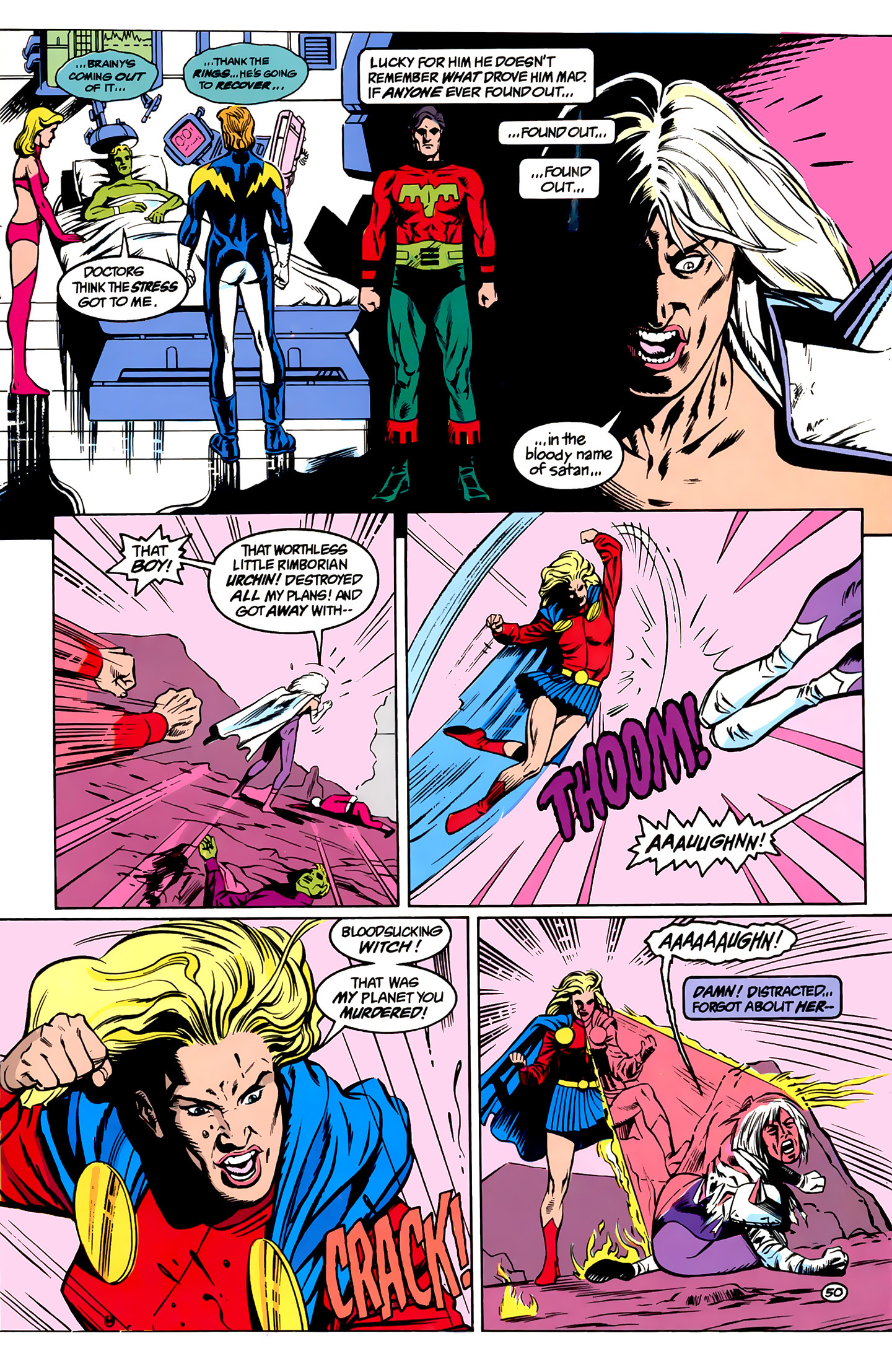 Legion of Super-Heroes (1989) _Annual_1 Page 50