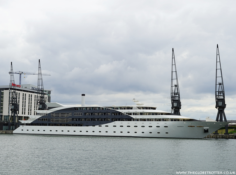 Sunborn Super Yacht Hotel in London
