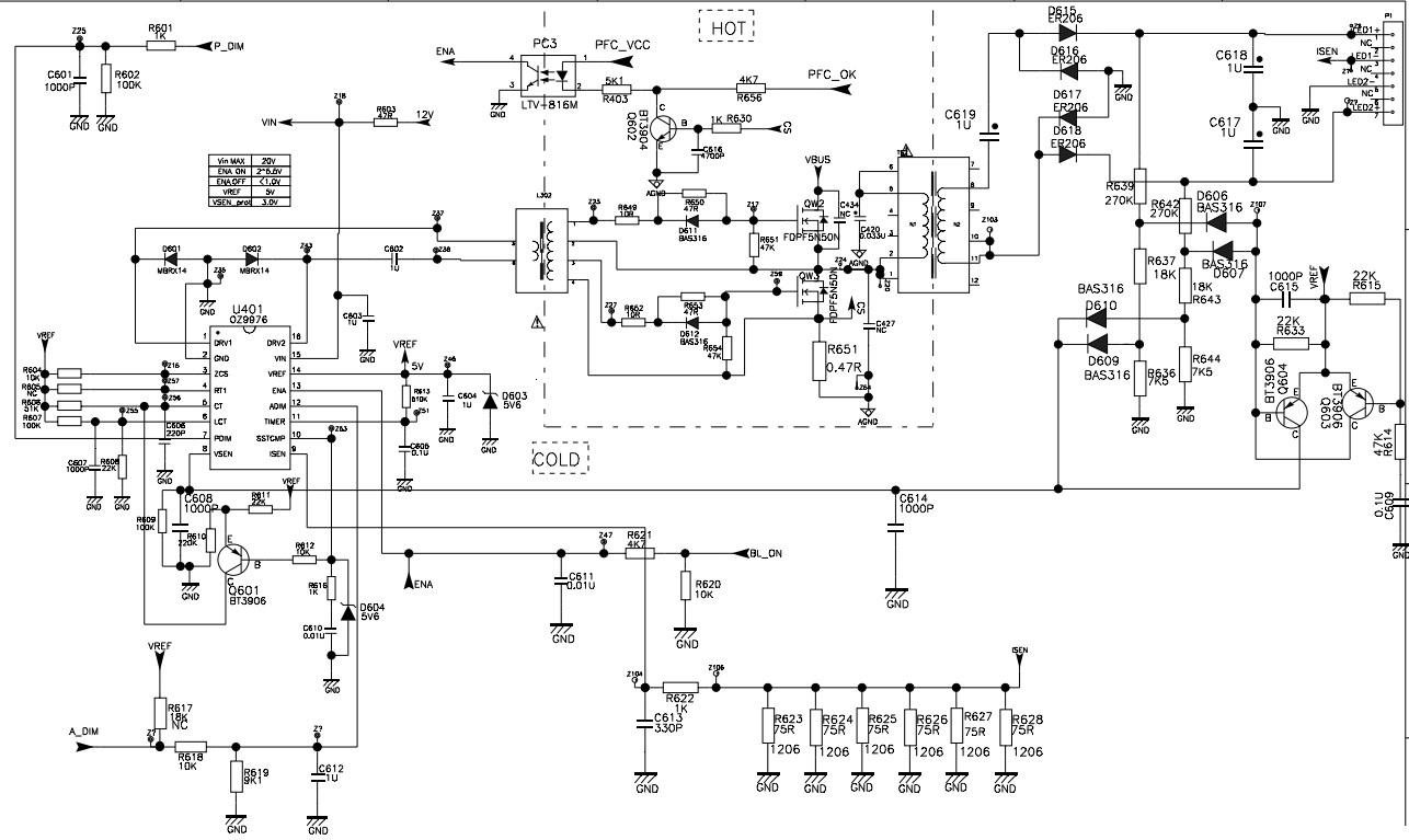 Tcl Les9b21 Lcd Tv Power Supply Regulator Schematic Elektrotricks Iphone 4 Screws Diagram