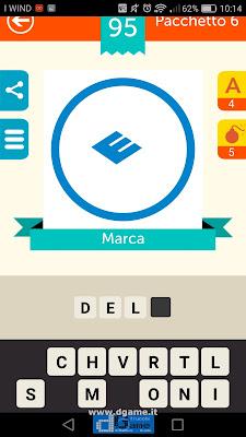Iconica Italia Pop Logo Quiz soluzione pacchetto 6 livelli 95-100