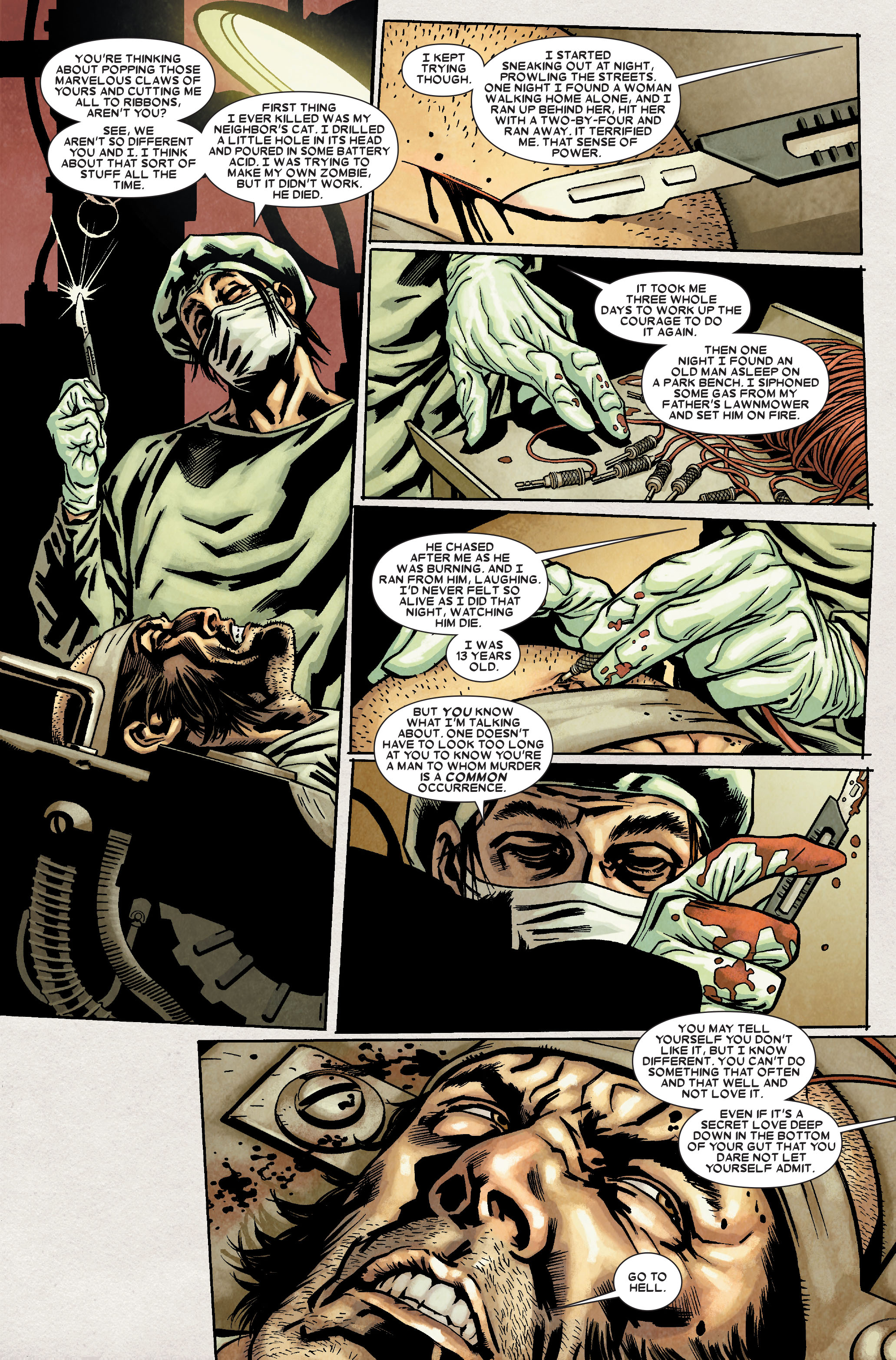Read online Wolverine: Weapon X comic -  Issue #8 - 18