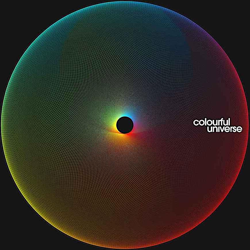 Simon Page art, a color sphere