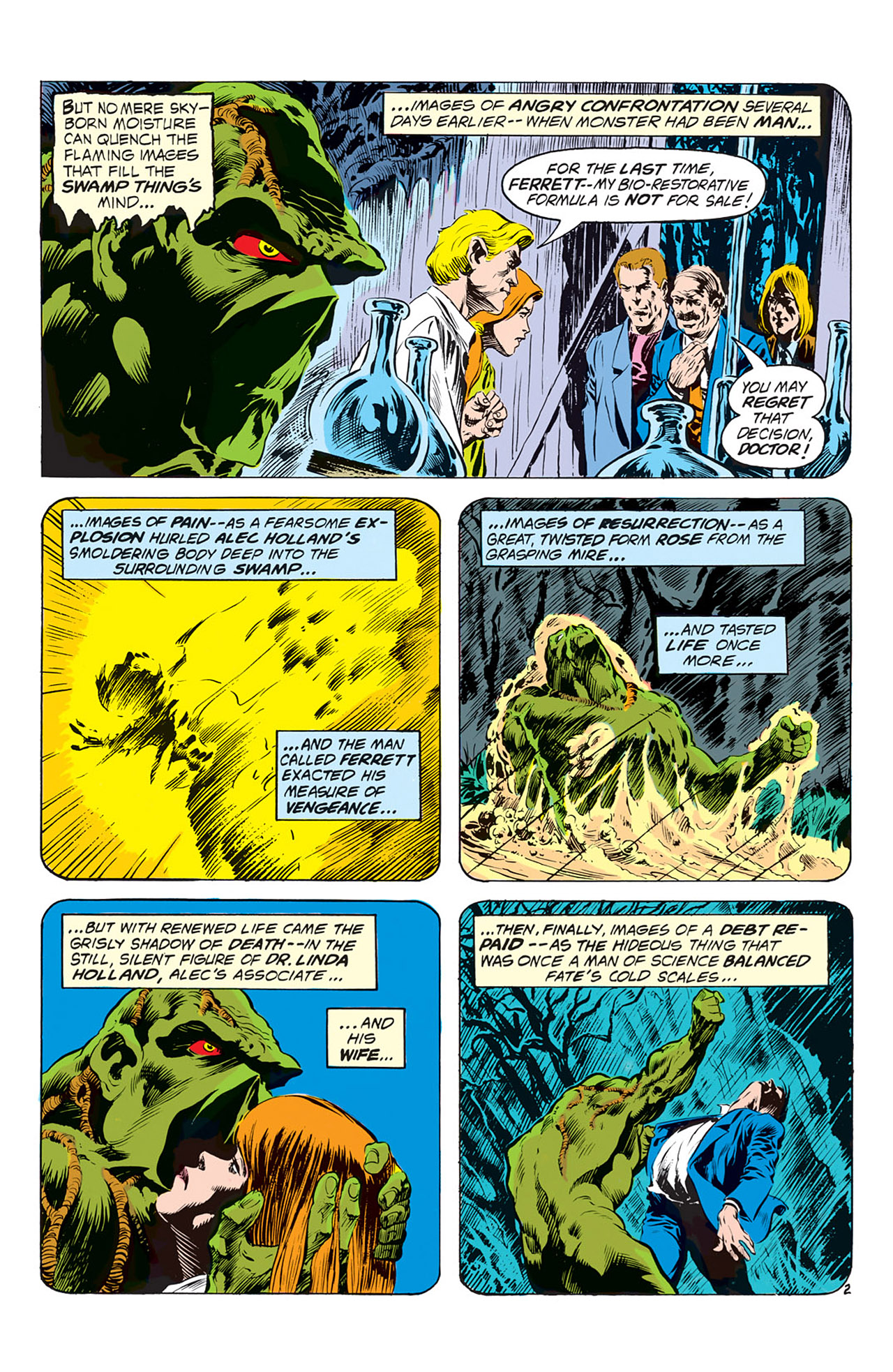 Swamp Thing (1972) Issue #2 #2 - English 3