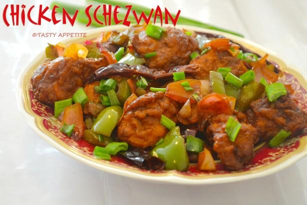 Schezwan Chilly Chicken