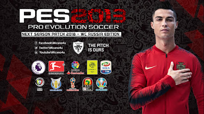 PES 2013 Next Season Patch AIO 2018 World Cup 2018 Russia Edition