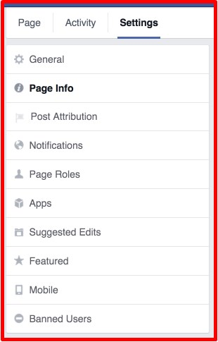 best way to set up a facebook business page