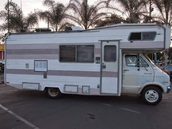 Used RVs 1976 Dodge Pioneer Motorhome For Sale by Owner
