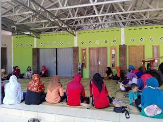 PSN Mandiri, Peka Tensi dan Screaning Kesehatan oleh Kader Kampung KB Gumulan