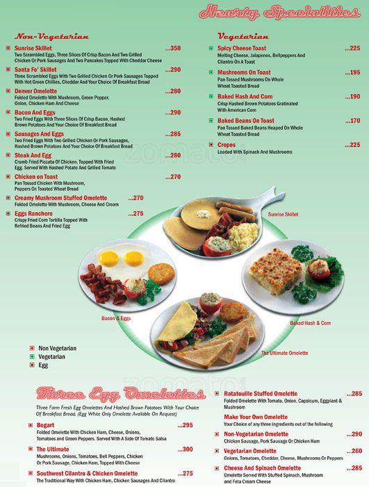 Fast Food Menu List In India  Food