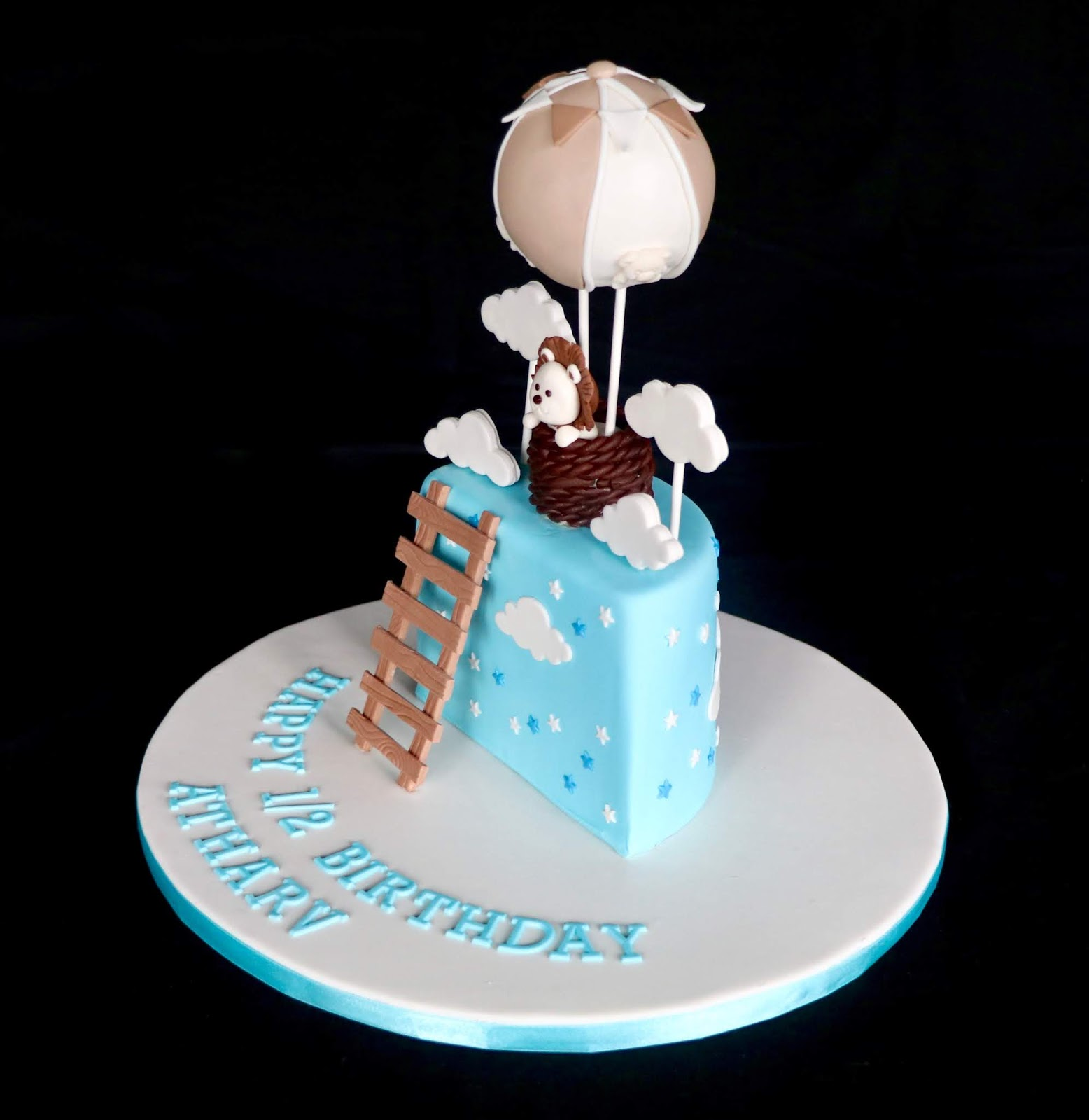 Baking Maniac 1 2 Birthday Cake
