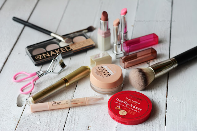 Maybelline dream matte mousse, dream lumi touch, bourjois, max factor, wibo