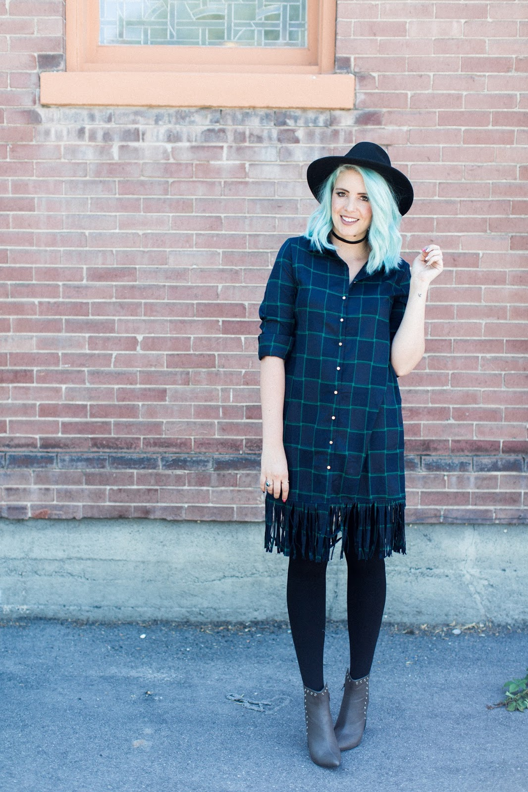 Modest outfit, Utah Fashion Blogger, plaid