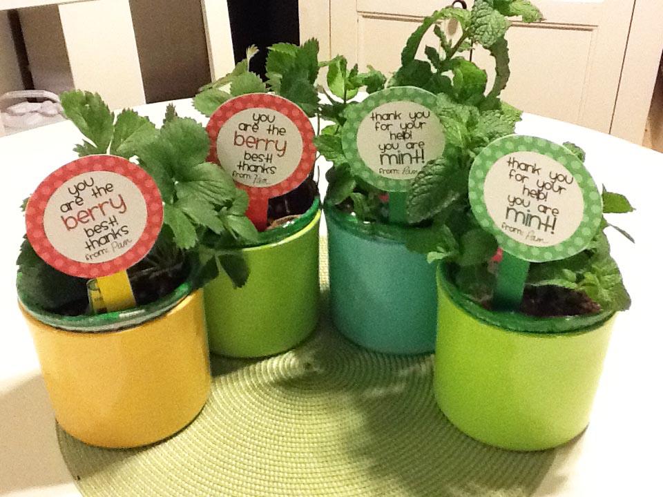 Parent volunteer christmas gift ideas
