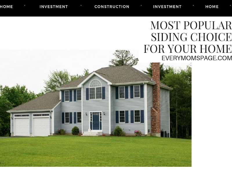 Most Popular Siding Choice for Your Home