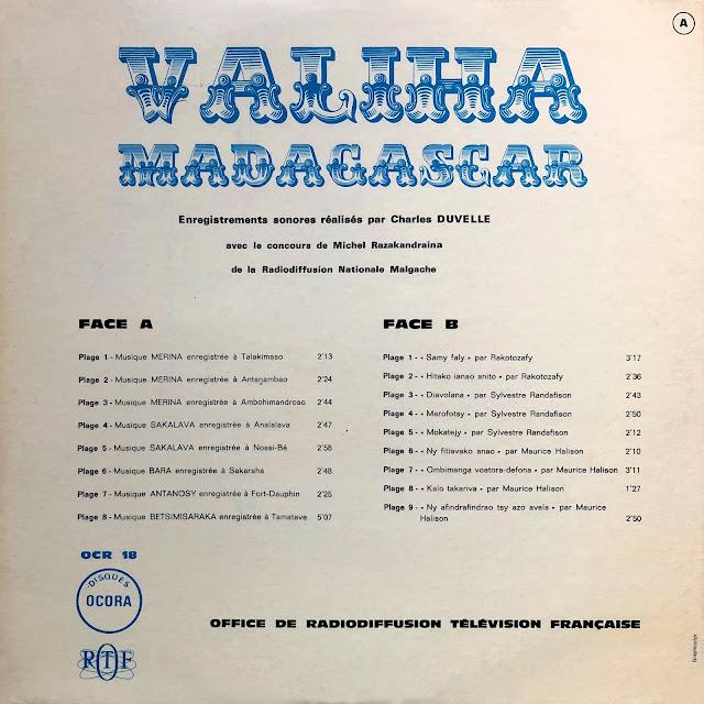 Madagascar vanilla zither Merina Sakalava Bara Antanosy malagasy malgache ritual trance ancestors Betsimisaraka world music traditional music African music vinyl