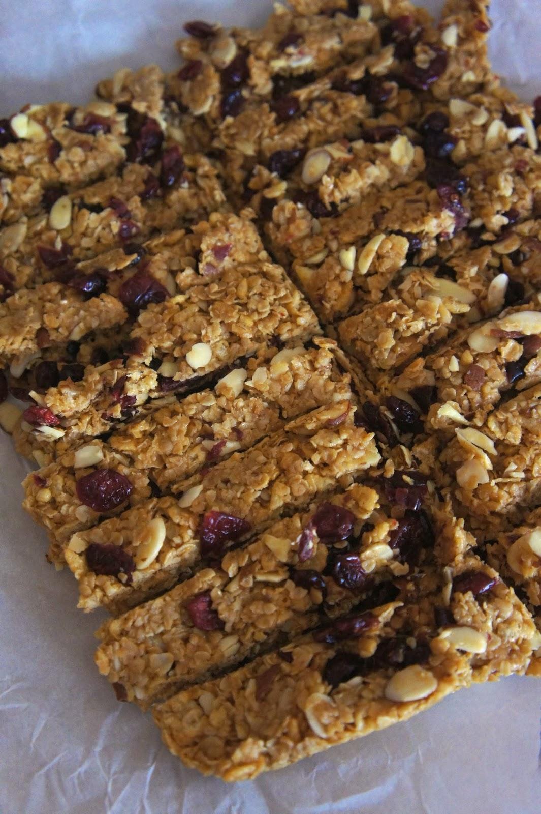 Cherry Almond Granola Bars: Savory Sweet and Satisfying