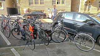 Die Sache mit den Fahrradgaragen