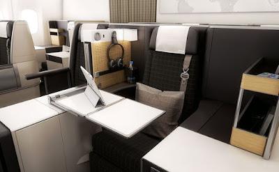 Interior Pesawat Garuda Terbesar