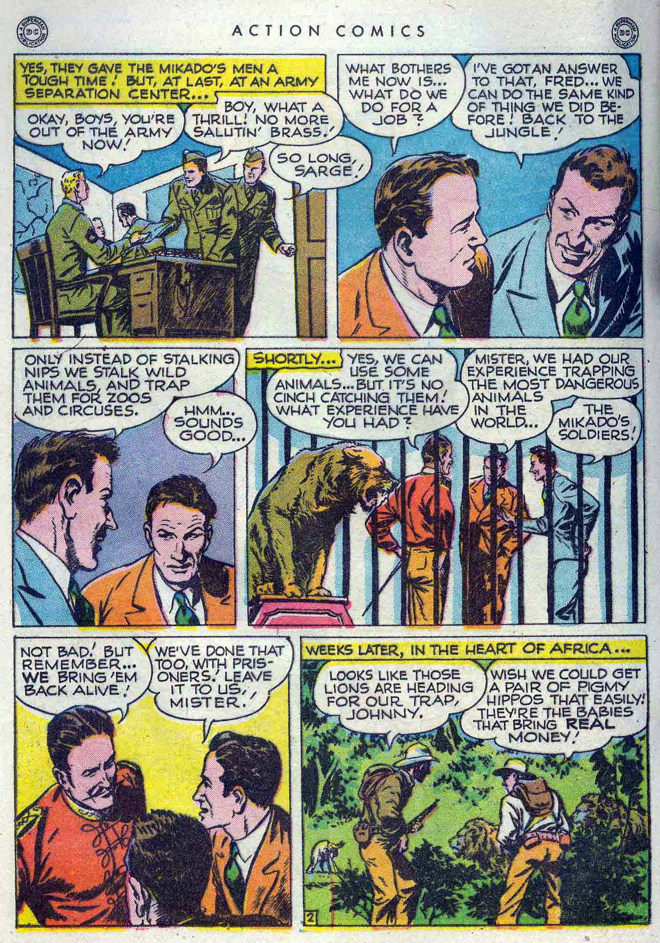 Read online Action Comics (1938) comic -  Issue #105 - 28