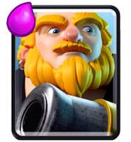 Ringkasan dan cara menggunakan kartu Royal Giant untuk strategi battle deck clash royale