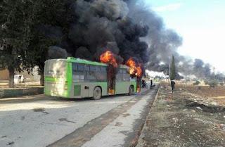 Bus-bus Evakuasi Pengikut Syiah Dibakar, Begini Komentar Oposisi