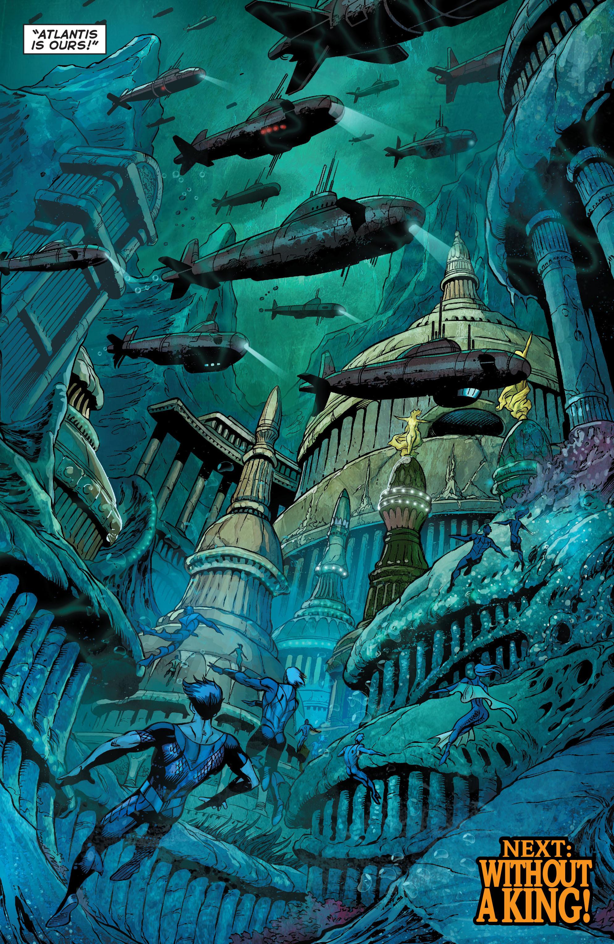 Read online Aquaman (2011) comic -  Issue #21 - 20