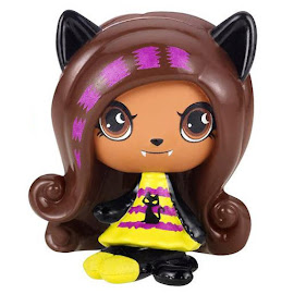MH Halloween Ghouls Clawdeen Wolf Mini Figure