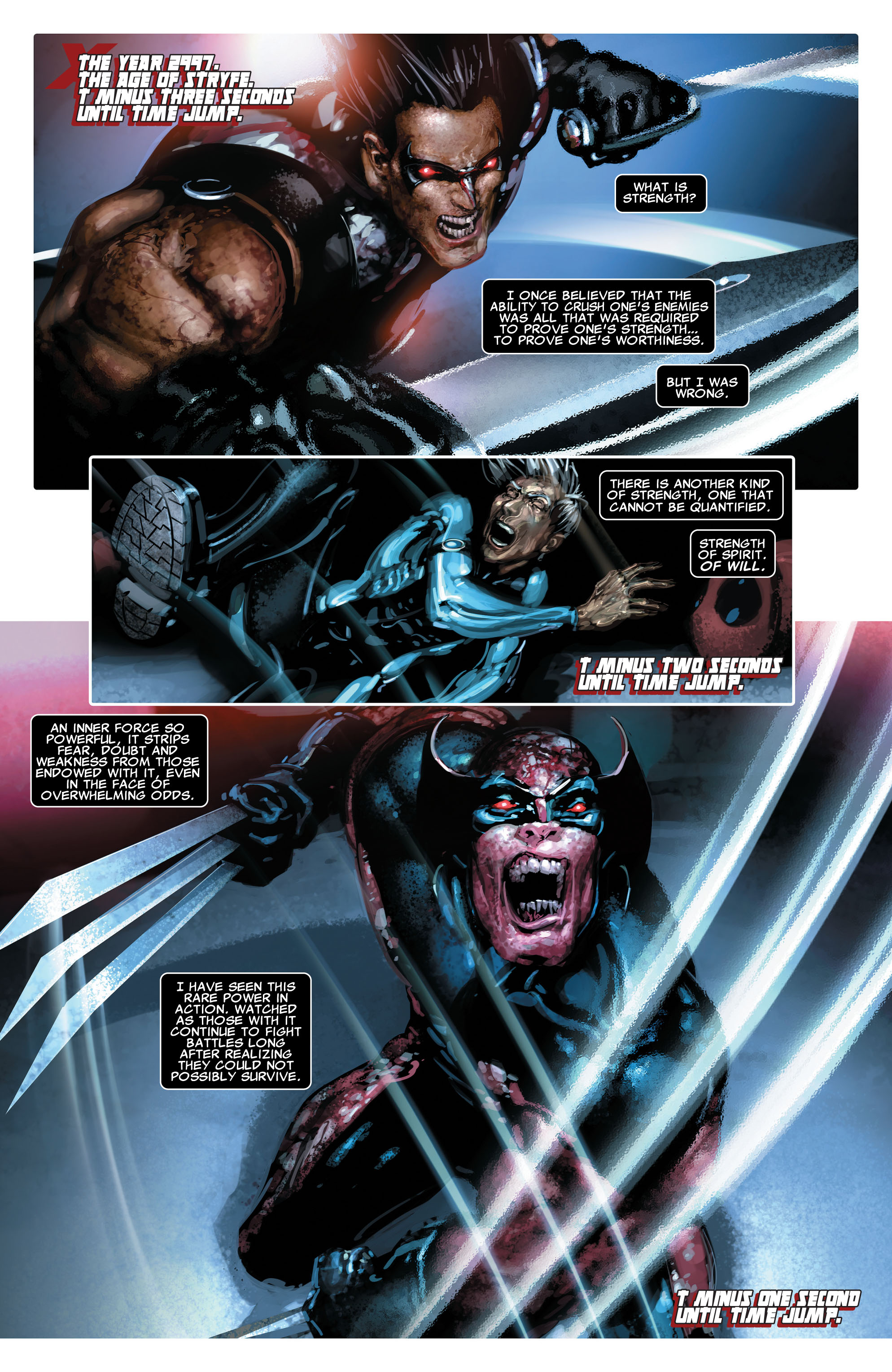 Read online X-Force (2008) comic -  Issue #16 - 3