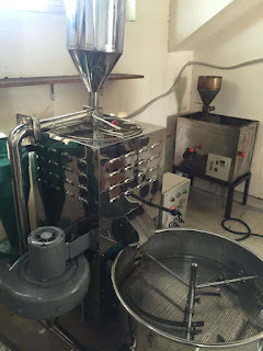Sửa chữa máy rang cafe tại quán