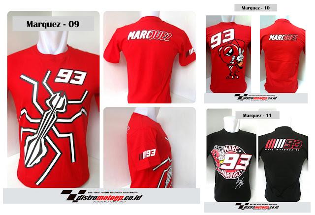 Kaos Marc Marquez Merchandise Indonesia
