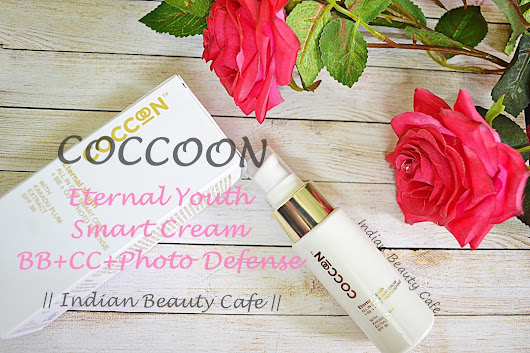 Indian Beauty Cafe: Coccoon Eternal Youth All in One Smart Cream + BB + CC + Photo Defense | Review, Swatch
