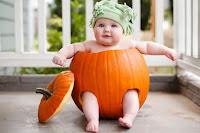 disfraz para bebe calabaza