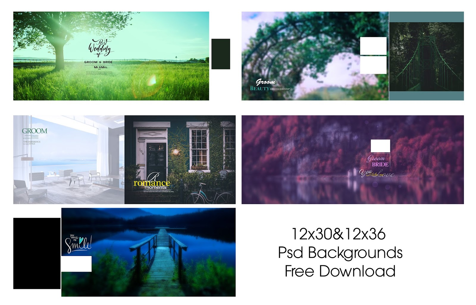 Nature Backgrounds ,Wedding Psd File Free Download - Tamil