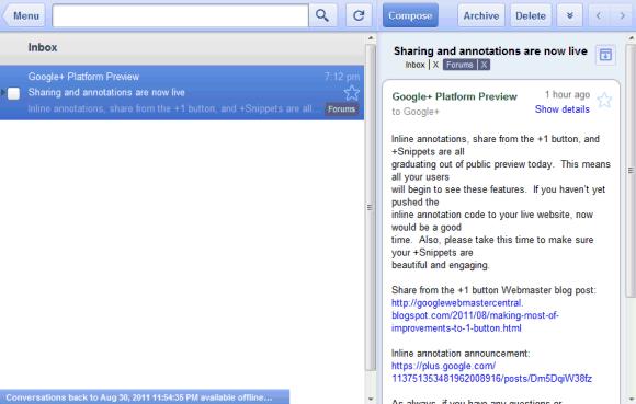 Offline gmail google calendar and google docs ccuart Image collections