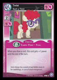 My Little Pony Twist, Such a Treat The Crystal Games CCG Card