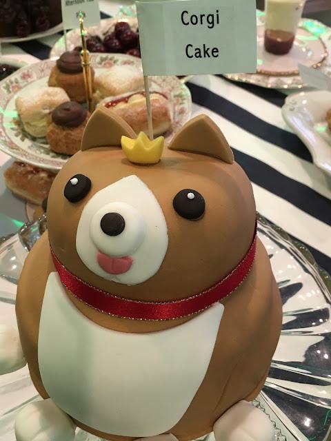 Asda Corgi cake