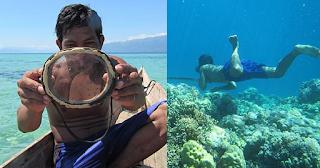 Ινδονησία: Φυλή κάθεται 13 λεπτά κάτω από το νερό λόγω γενετικής εξέλιξης