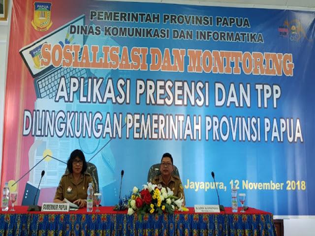 Pemprov Papua Akan Integrasikan E-TPP ke E-Absensi