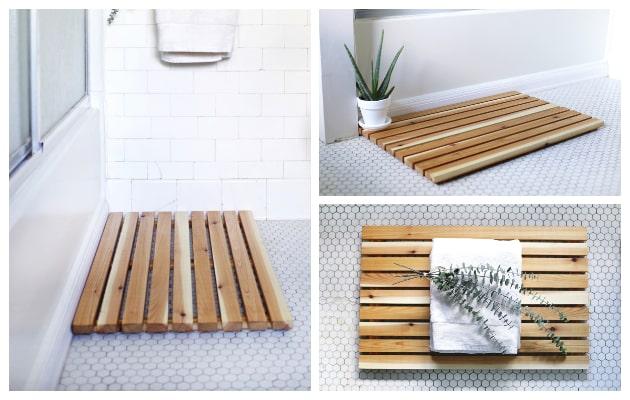 Πως θα φτιάξετε πολύ εύκολα Ξύλινα πατάκια-χαλάκια για το μπάνιο ή την είσοδο