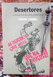 Portada del libro Desertores, de Pedro Corral