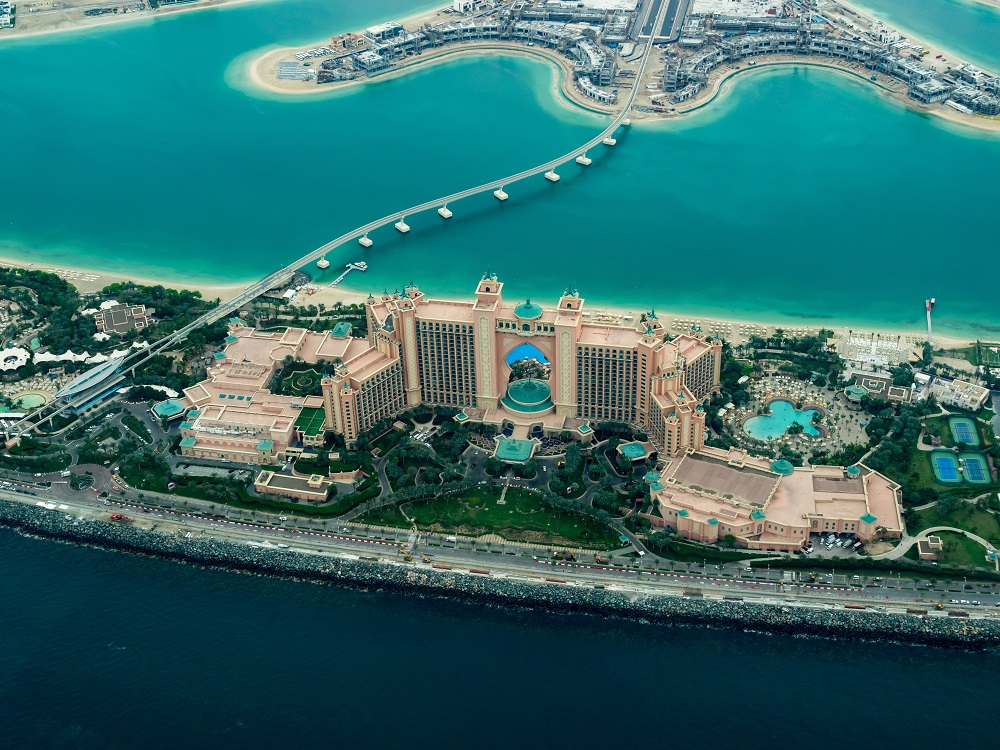 Atlantis The Palm from above