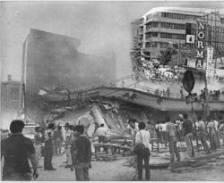 30 años despues: El terremoto mi cámara y mis recuerdos