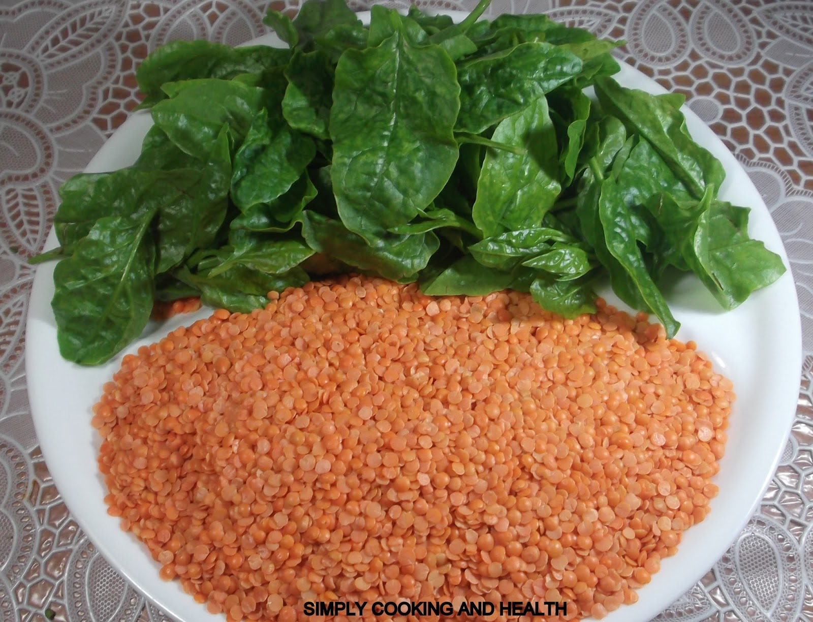 lentils red lentils with cumin and fried onions recipes dishmaps red ...