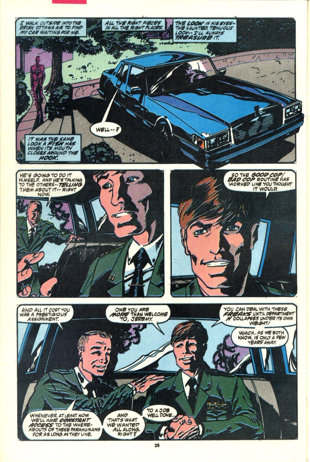 Read online Alpha Flight (1983) comic -  Issue #92 - 20