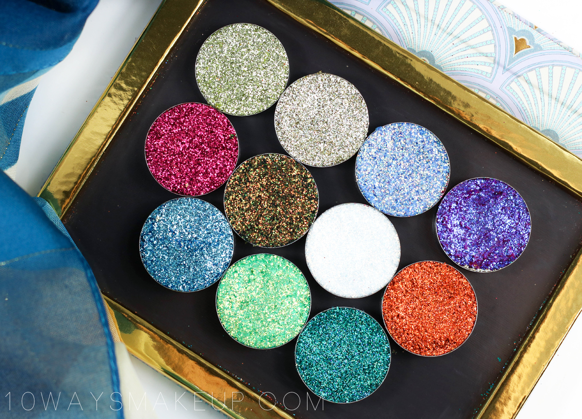Glittertubes Pressed Glitters swatch