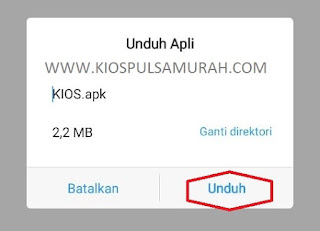 Download Aplikasi Android Kios Mobile Topup